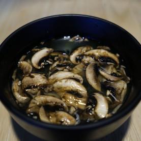 Soupe Miso au saumon