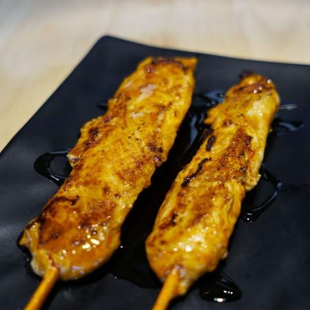 Yakitori poulet épicé