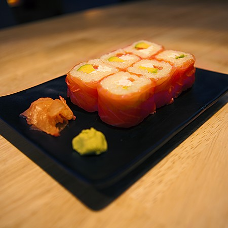 Roll saumon avocat cheese