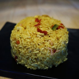 Riz curry