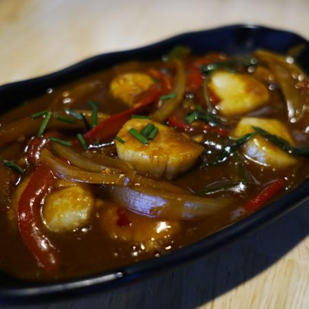 St Jacques au curry