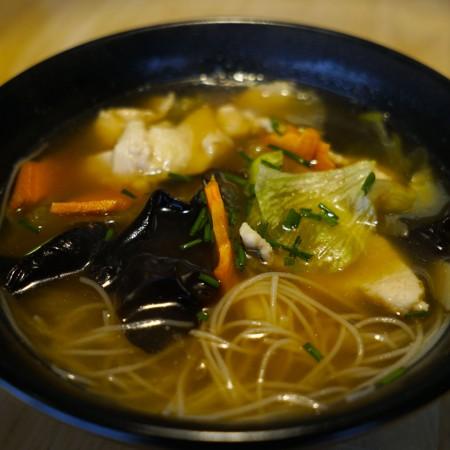 Soupe vermicelle au poulet