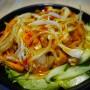 Salade d'asie jambon