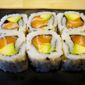 California maki saumon boursin