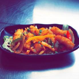 Calamar au curry
