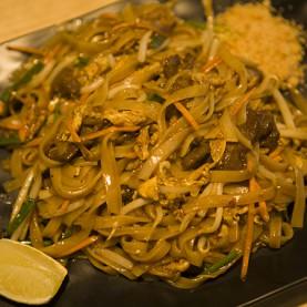 Pad Thaï au crevettes